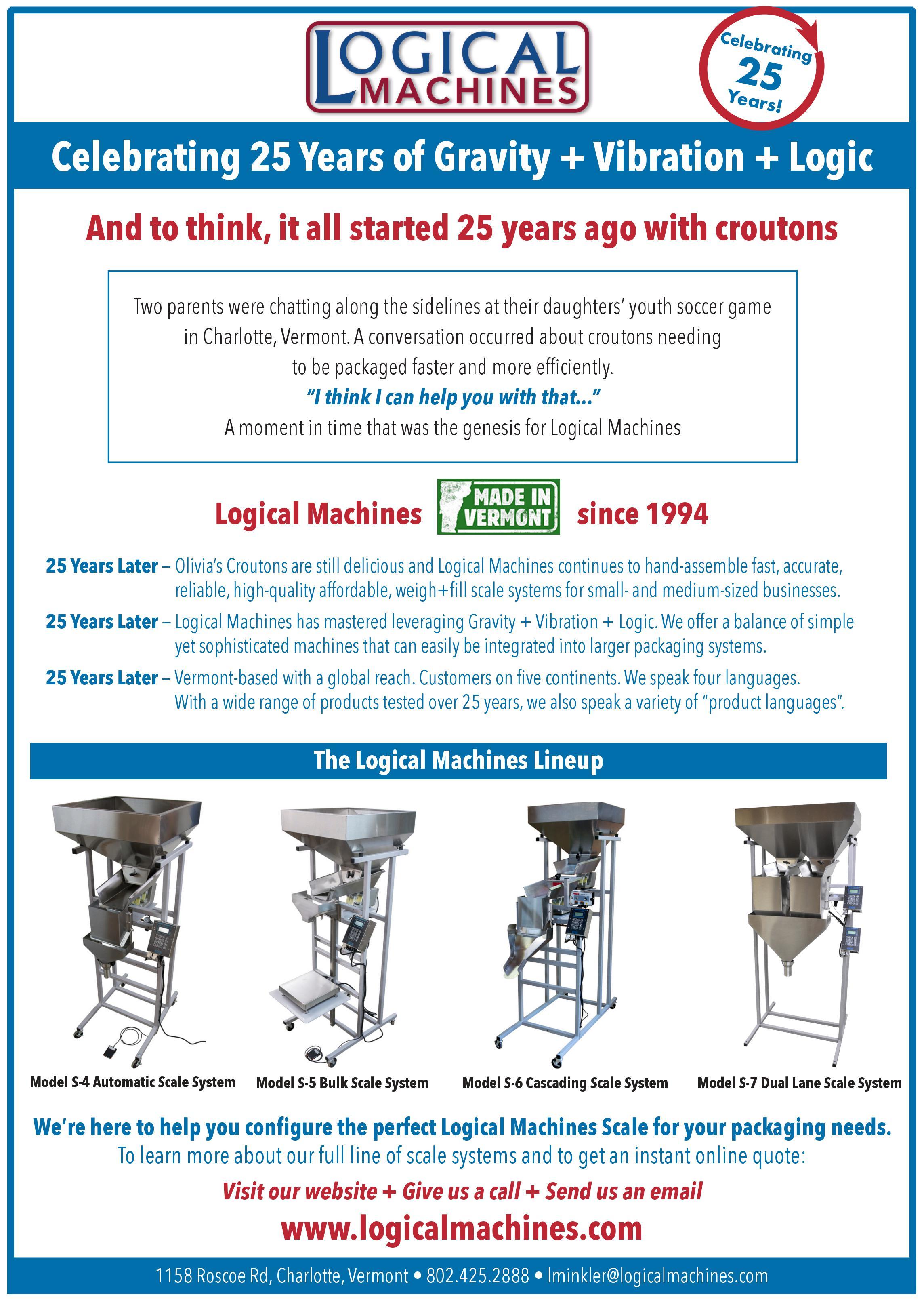 Celebrating 25 Years of Gravity + Vibration + Logic